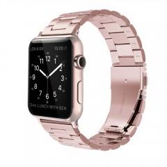 Simpeak Stainless Steel Band Strap for Apple Watch 38mm Series 1 Series 2 -Series 3